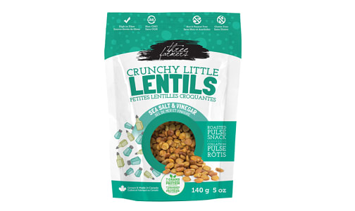 Crunchy Little Lentils - Sea Salt & Vinegar- Code#: SN1369
