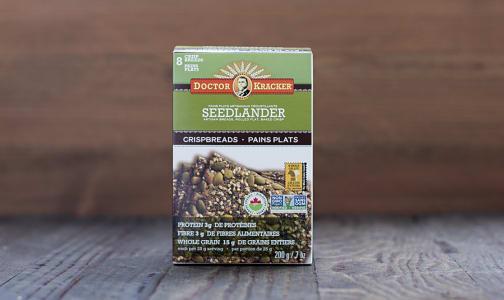 Organic Crispbread, Seedlander- Code#: SN1401