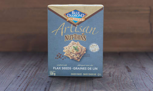 Artisan Nut Thins - Flax- Code#: SN1450