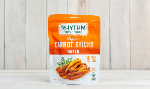 Organic Carrot Sticks - Naked- Code#: SN1461