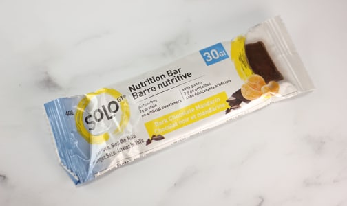Dark Chocolate Mandarin Energy Bar- Code#: SN1503