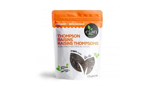 Organic Sun-Dried Thompson Raisins- Code#: SN1525