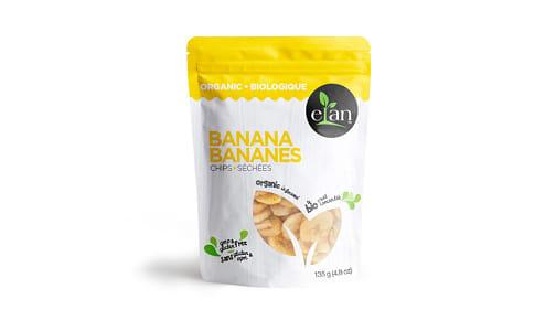 Organic Banana Chips- Code#: SN1527