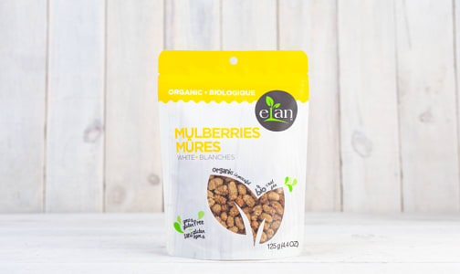 Organic White Mulberries- Code#: SN1532