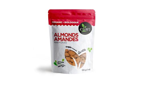 Organic Raw Almonds- Code#: SN1535