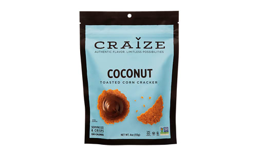 Coconut Toasted Corn Crisp- Code#: SN1556