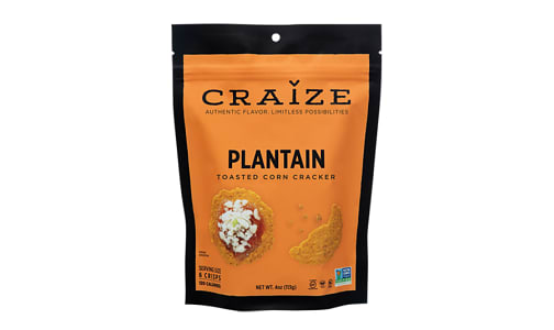 Plantain Toasted Corn Crisp- Code#: SN1559