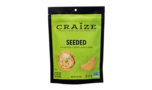 Seeded Toasted Corn Crisp- Code#: SN1561