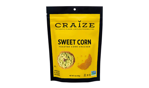 Sweet Corn Toasted Corn Crisp- Code#: SN1562