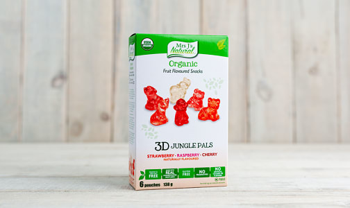 Organic 3D Jungle Pals- Code#: SN1565