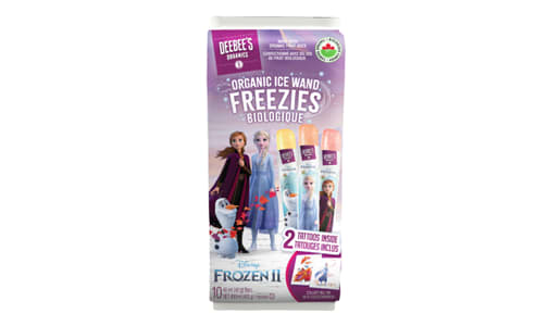 Organic Frozen II - Ice Wand Freezies- Code#: SN1580