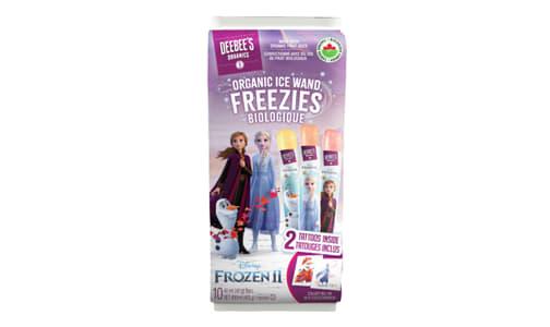 Organic Frozen II - Ice Wand Freezies- Code#: SN1580