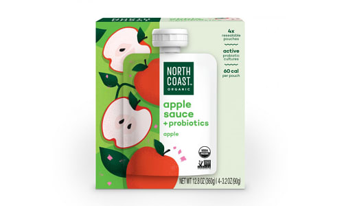 Organic Apple Sauce Pouches- Code#: SN1583