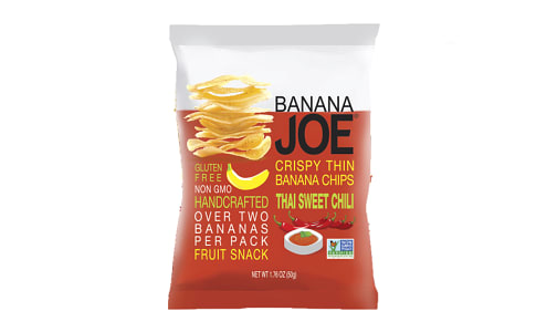 Thai Sweet Chili, Crispy Thin Banana Chips- Code#: SN1593