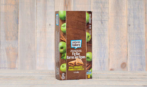 Whole Wheat Apple Cinnamon Fig Bars - CASE- Code#: SN1601-CS
