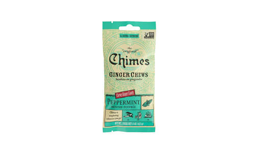 Ginger Chews - Peppermint- Code#: SN1608