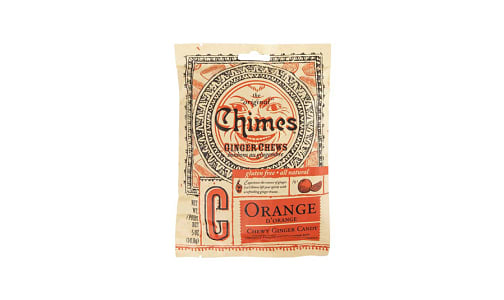 Ginger Chews - Orange- Code#: SN1610