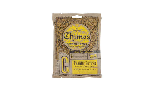 Ginger Chews - Peanut Butter- Code#: SN1612