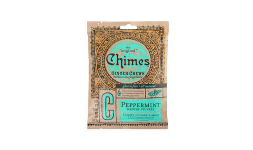 Ginger Chews - Peppermint- Code#: SN1613