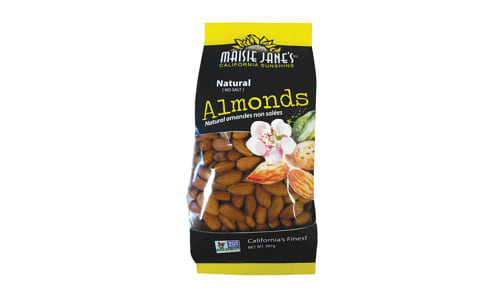 Almonds, Natural- Code#: SN1616