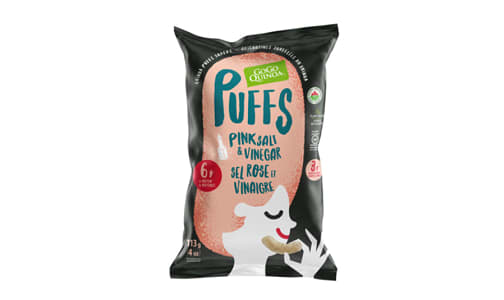 Organic Salt & Vinegar Puffs- Code#: SN1631