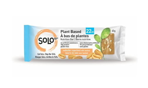 Nutbutter Superfood Bar with Baobab- Code#: SN1633