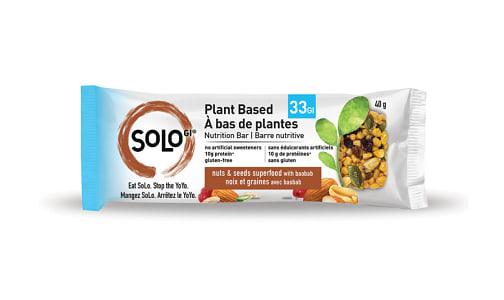 Nut & Seed Superfood Bar with Baobab- Code#: SN1634