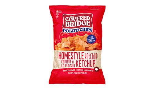 Homestyle Ketchup Chips- Code#: SN1645