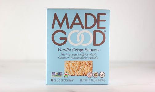 Organic Crispy Squares - Vanilla- Code#: SN1672