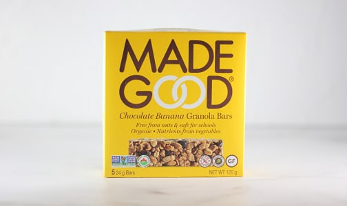 Organic Granola Bars - Chocolate Banana- Code#: SN1674
