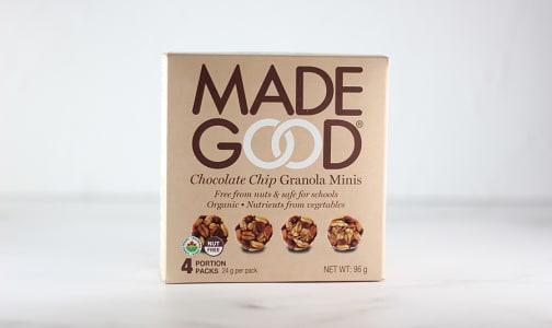 Organic Mini Chocolate Chip Granola Bars- Code#: SN1681