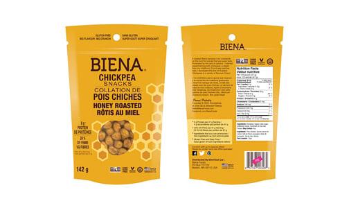 Chickpea Snacks - Honey Roasted- Code#: SN1710