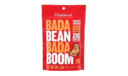 Crunchy Broad Beans - Sriracha- Code#: SN1714