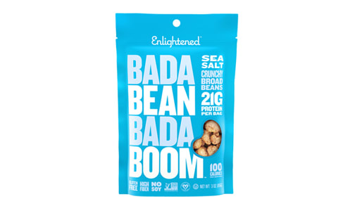 Crunchy Broad Beans - Sea Salt- Code#: SN1715