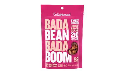 Crunchy Broad Beans - Sweet Cinnamon- Code#: SN1716