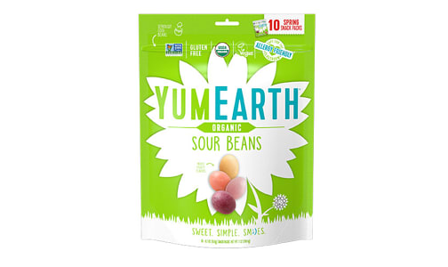 Organic Easter Sour Beans- Code#: SN1731