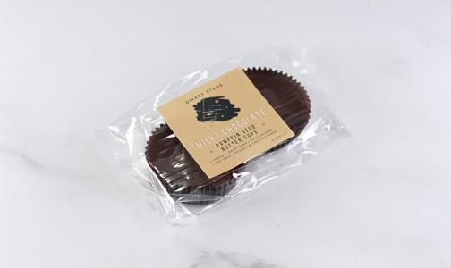 Milk Chocolate Pumpkin Seed Buttercups- Code#: SN1739