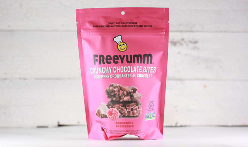 Crunchy Chocolate Bites, Raspberry- Code#: SN1749