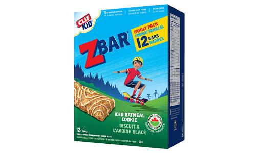 Organic Iced Oatmeal Cookie Bar- Code#: SN1756