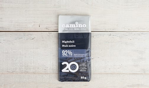 Organic Nightfall Chocolate Bar 92%- Code#: SN1788