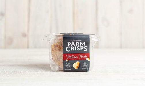 Parmesan Crisps - Italian Herb- Code#: SN1794