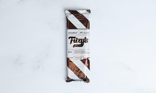 Organic Dark Chocolate Coconut Bar- Code#: SN1819