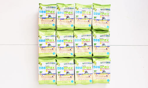 Organic Big Grab & Go Seaweed Snacks Lime - CASE- Code#: SN1858-CS