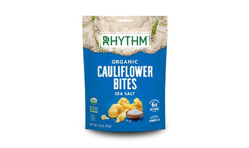 Organic Crunchy Cauliflower Bites - Sea Salt- Code#: SN1897