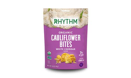Organic Crunchy Cauliflower Bites - White Cheddar- Code#: SN1898