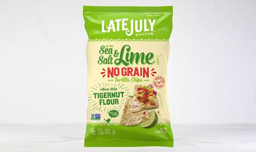 No Grain Tortilla Chip - Sea Salt & Lime- Code#: SN1911