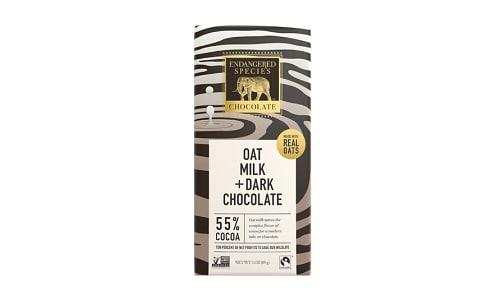 Zebra Bar - Oat Milk Dark Chocolate 55%- Code#: SN1919