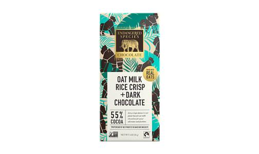 Gorilla Bar - Oat Milk Rice Crisp 55%- Code#: SN1920
