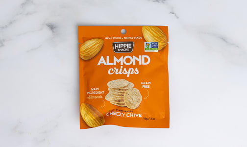 FREE SAMPLE! Almond Crisps - Cheezy Chive- Code#: SN1931