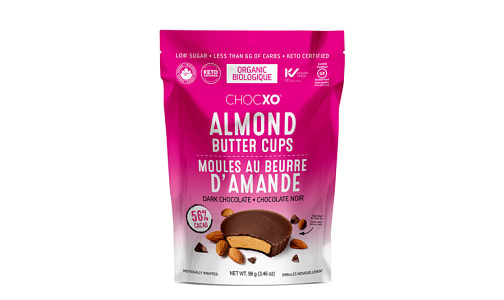 Dark Chocolate Almond Butter Cups- Code#: SN1940